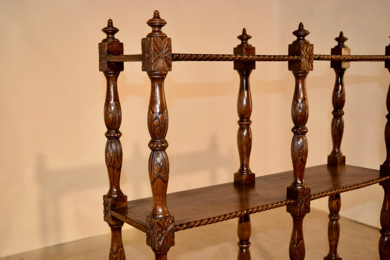 19th Century Oak Shelf from France For Sale 1