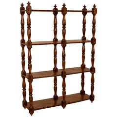 19th Century Oak Shelf from France