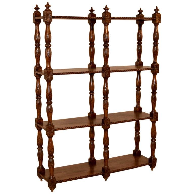 19th Century Oak Shelf from France For Sale
