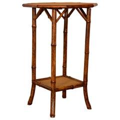 19th Century Octagonal Bamboo Table