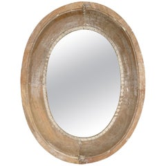 19th Century Oeil De Boeuf Mirror