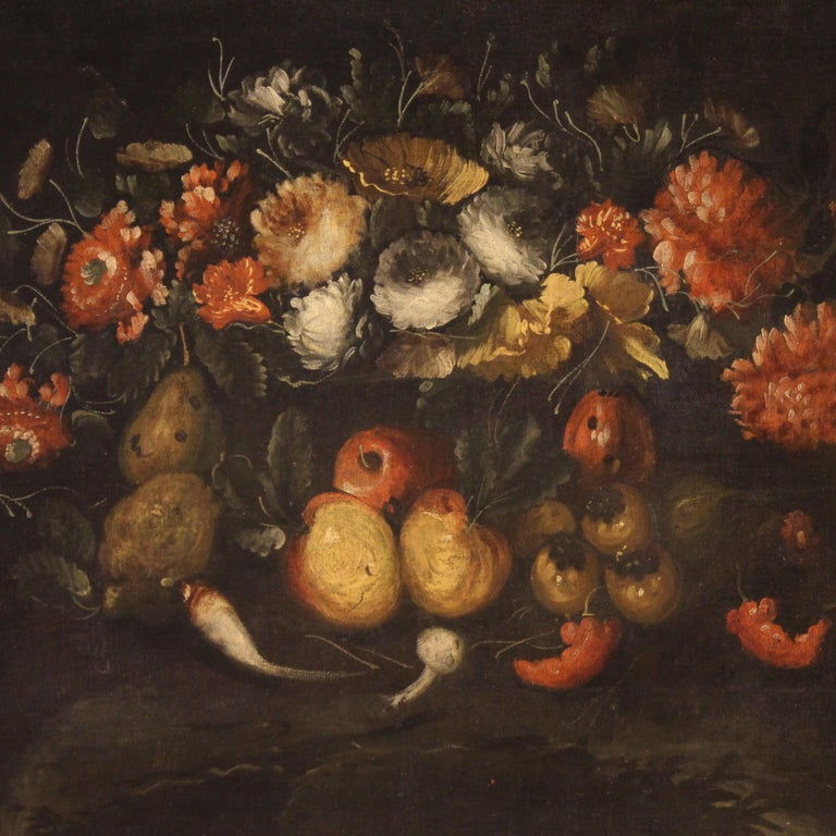 19th Century Oil on Canvas French Still Life Painting, 1880 7