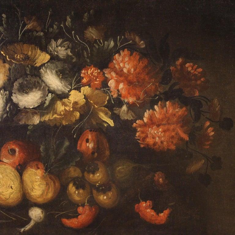 19th Century Oil on Canvas French Still Life Painting, 1880 2