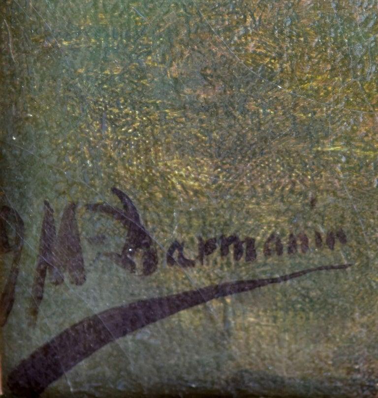 19th Century Oil on Canvas José Mirailles Darmanin Spanish School For Sale 4