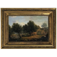 19th Century Oil Painting by Artist James Stark