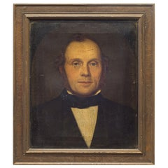 19th Century Oil Portrait of a Gentleman, circa 1800s