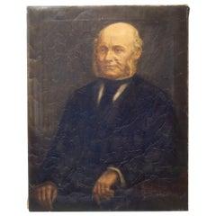 19th Century Oil Portrait of a Gentleman, circa 1800s