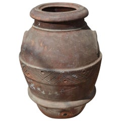 19th Century Olive Oil Jara