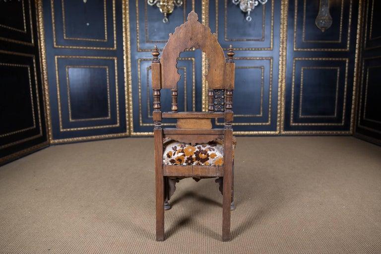 19th Century, Oriental Seat Group with Inlays Marakesch, circa 1900 3