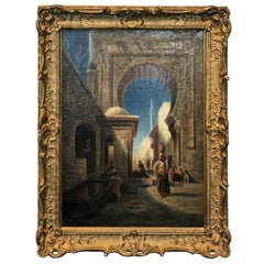 19th Century Orientalist Painting Signed Frederick Goodall