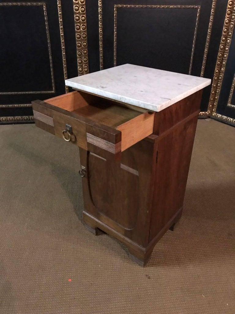 Veneer 19th Century, Original Art Nouveau Commode Walnut For Sale