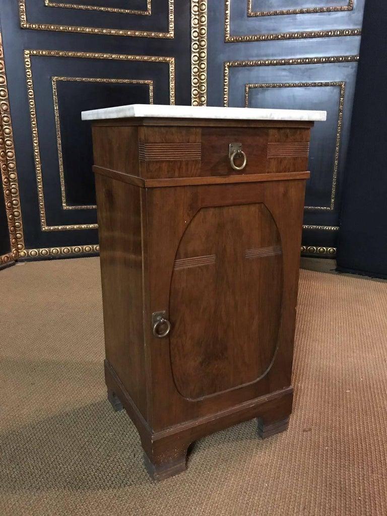 19th Century, Original Art Nouveau Commode Walnut For Sale 2