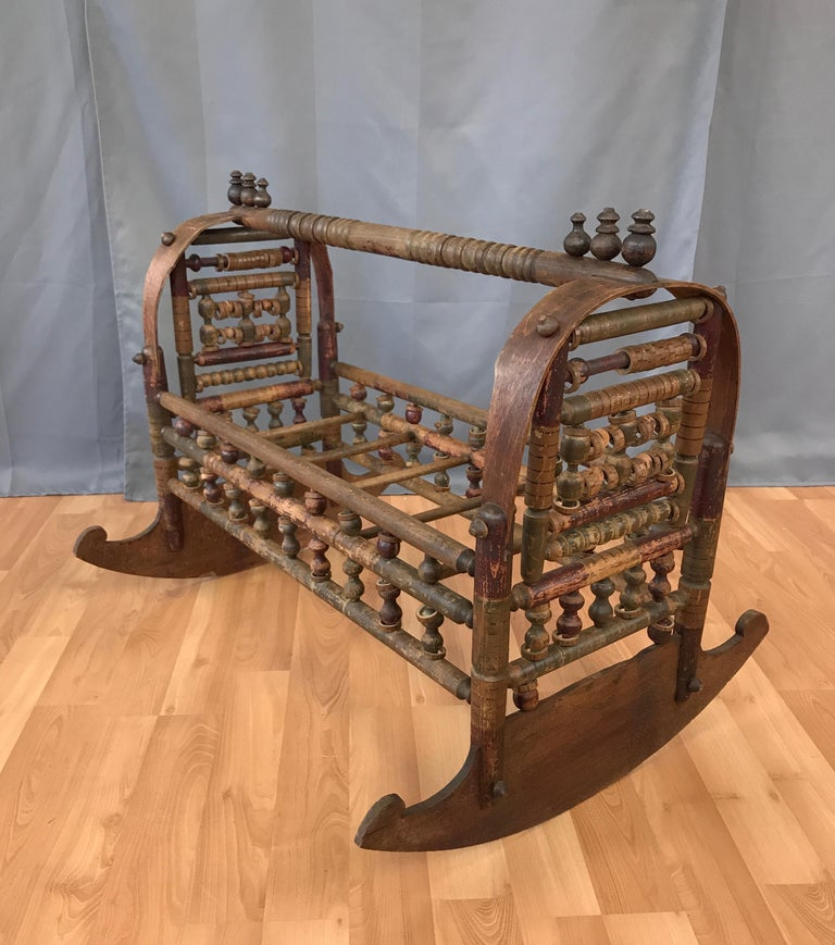 Pleasant 19Th Century Ottoman Or Uzbekistan Baby Cradle For Sale At Gmtry Best Dining Table And Chair Ideas Images Gmtryco