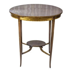19th Century Oval Side Table