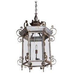 19th Century, Pagoda Style, Electrified Lantern