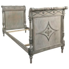 19th Century Painted Directoire Daybed