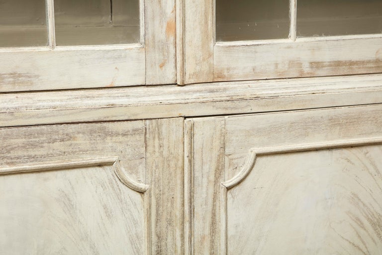 19th Century Painted English Cabinet For Sale 1
