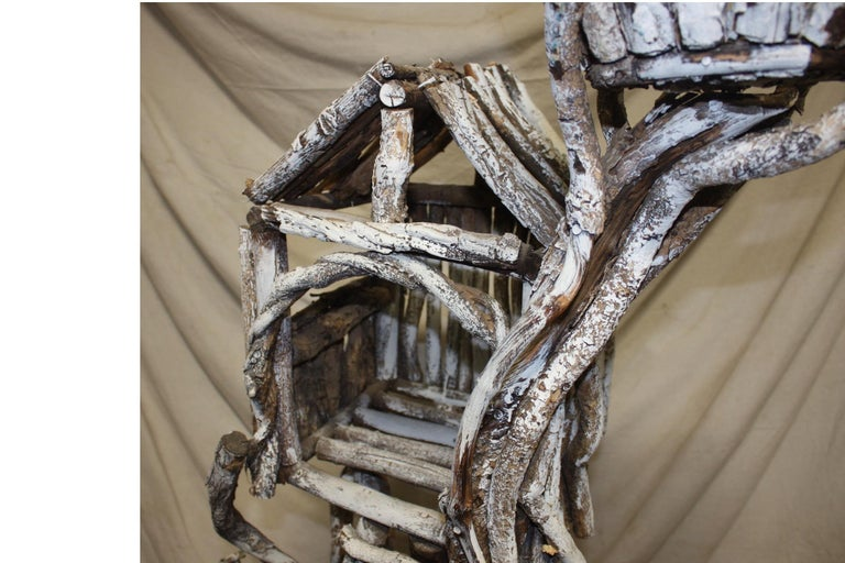 19th Century Painted Wood Nest For Sale 6