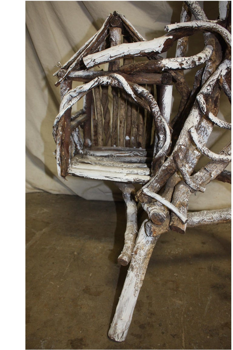 19th Century Painted Wood Nest For Sale 7