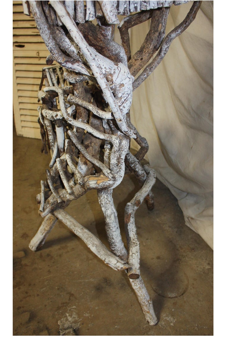 19th Century Painted Wood Nest For Sale 9