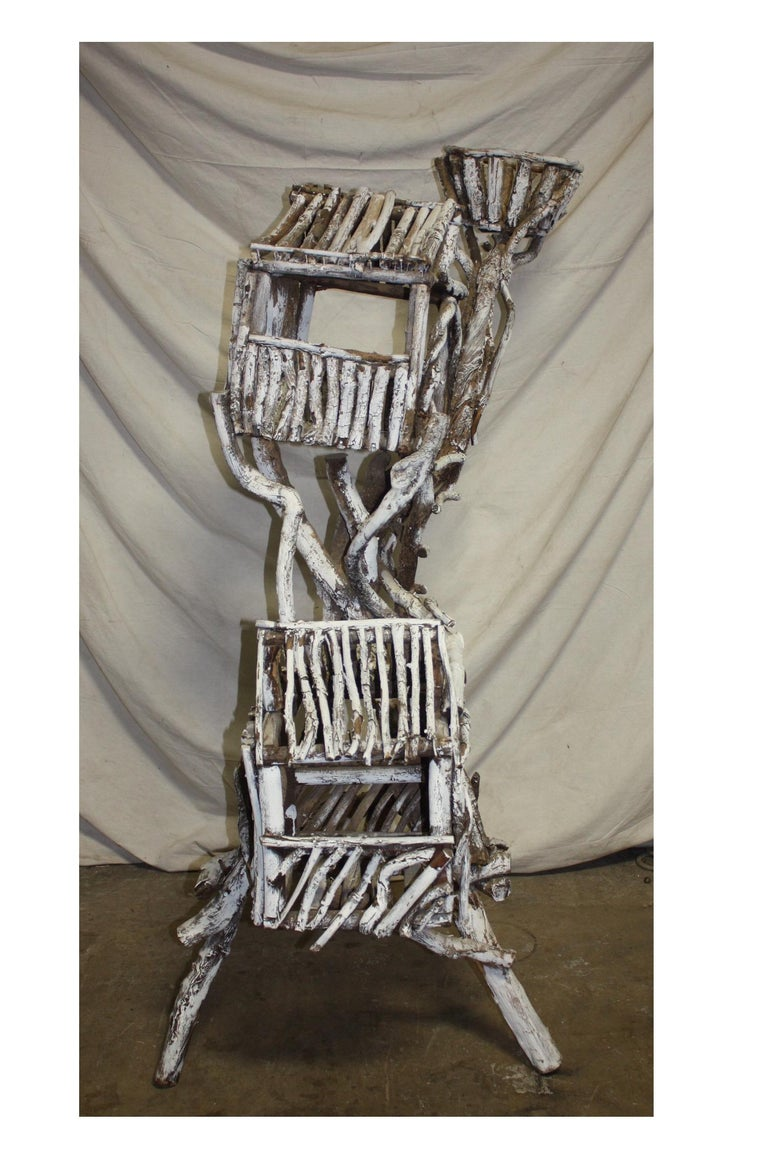 19th Century Painted Wood Nest For Sale 1