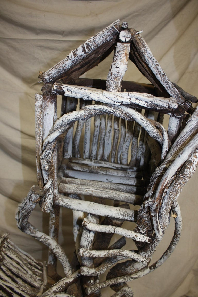 19th Century Painted Wood Nest For Sale 4