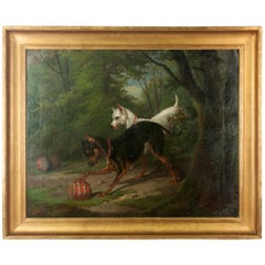 19th Century Painting, Attributed to Alfred de Dreux