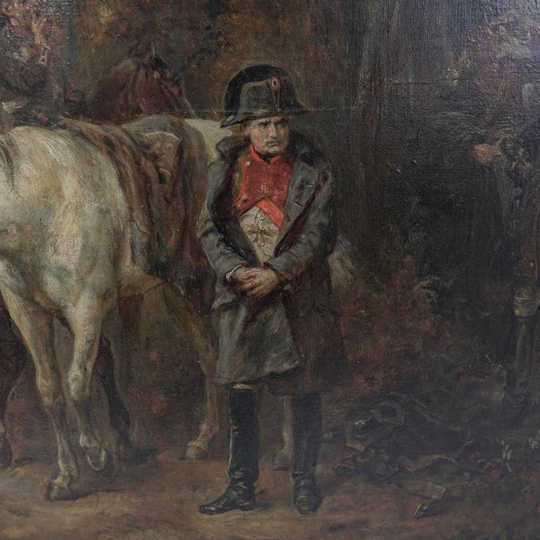 Beautiful 19th century oil on canvas by Hillingford, British, 1828-1904.