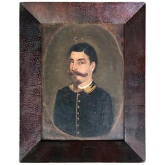 19th Century Painting of a Man in a Military Uniform