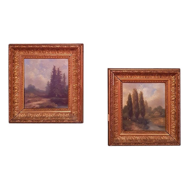 19th Century Paintings by Hermanus Jan Hendrik Rijkelijkhuysen For Sale