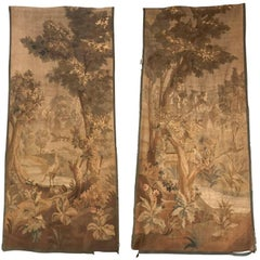19th Century Pair of Flemish Tapestries
