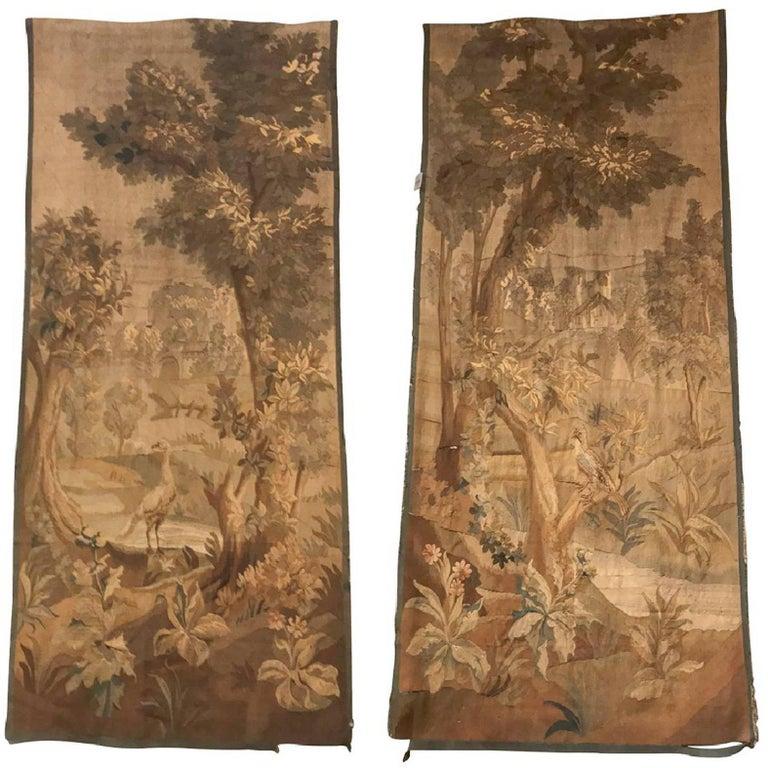 19th Century Pair of Flemish Tapestries
