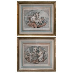 19th Century Pair of French Engravings