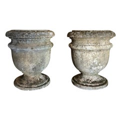 19th Century Pair of French Planter Urns