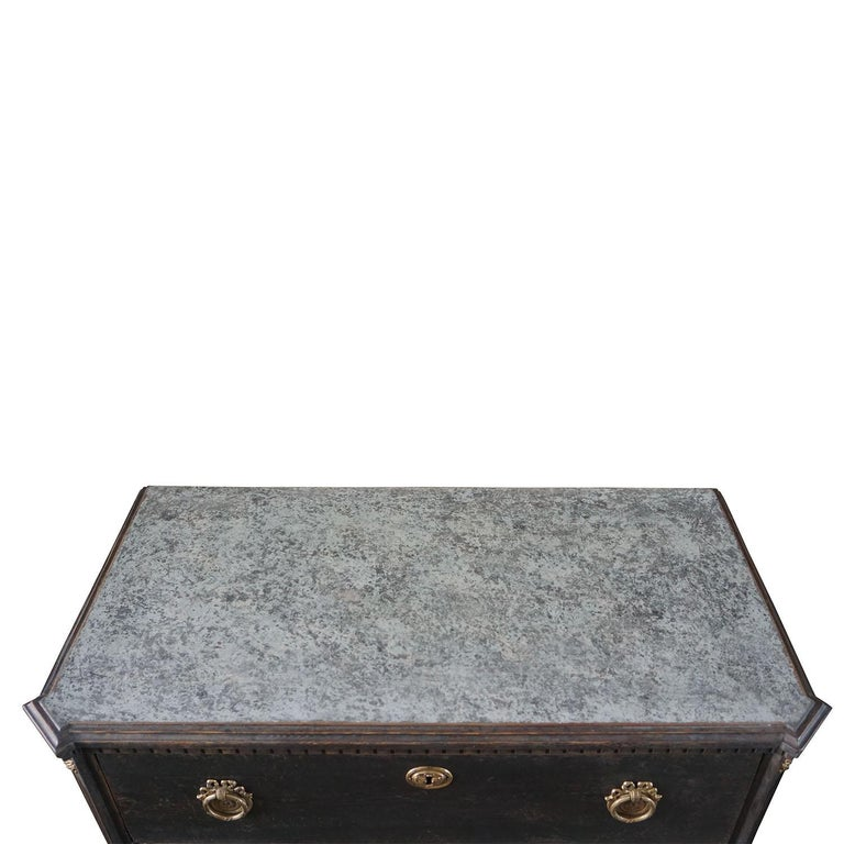 19th Century Pair of Gustavian Chests For Sale 1