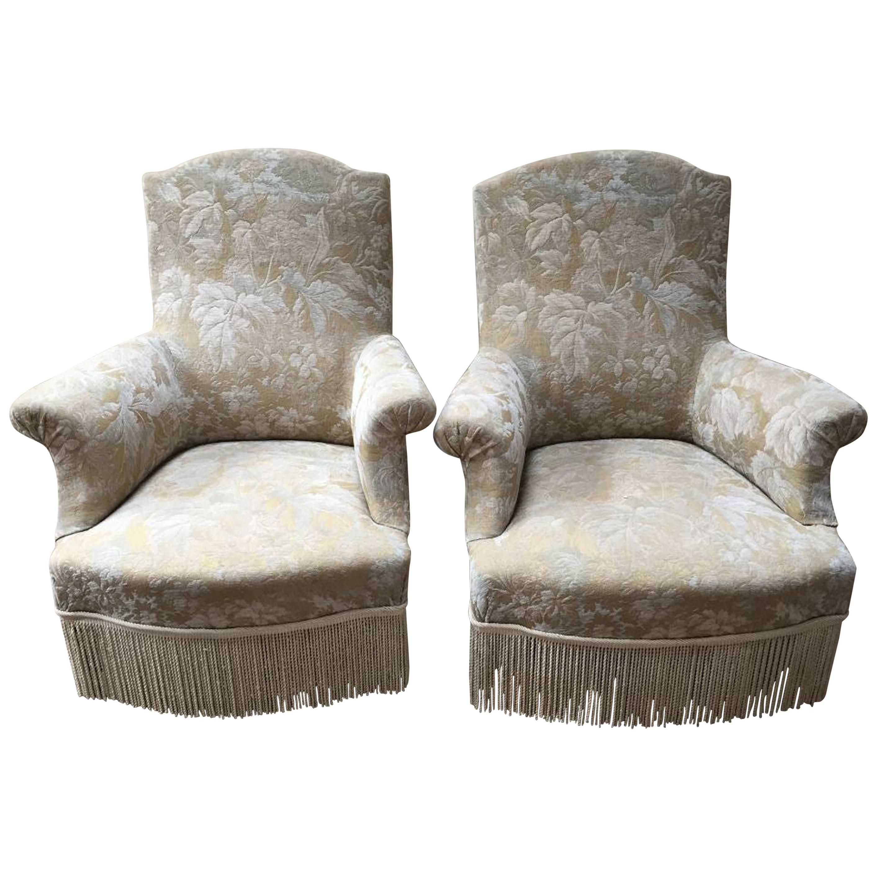 Antique and vintage bergere chairs 922 for sale at 1stdibs