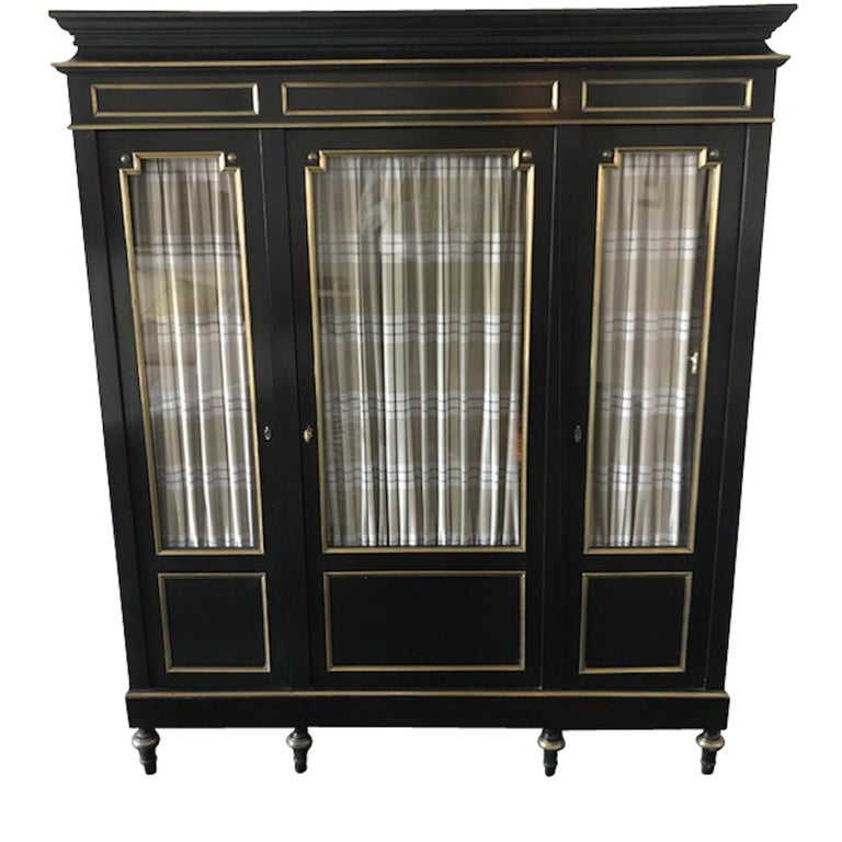 19th Century Pair of Napoleon III Cabinets, France For Sale