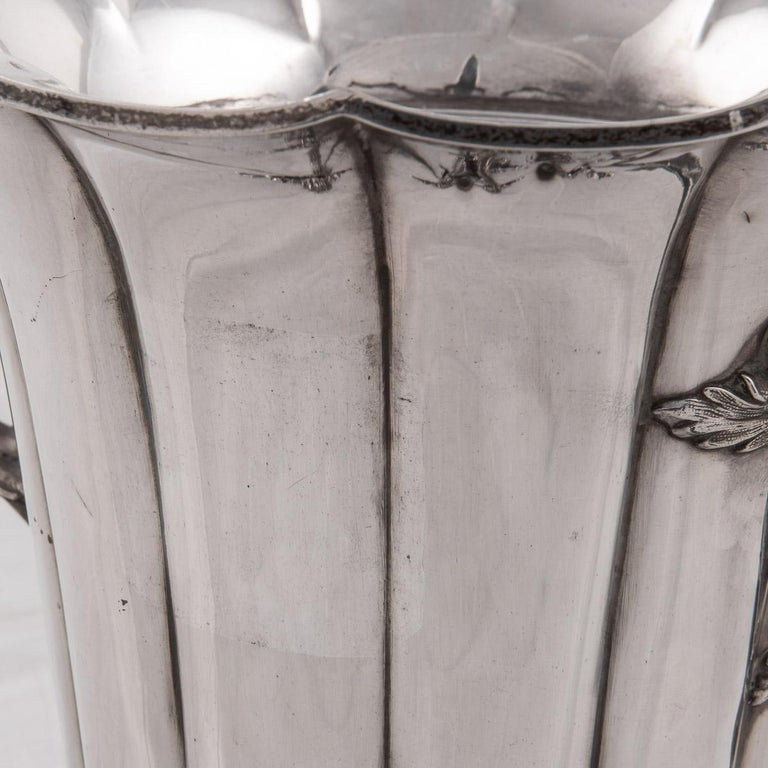 19th Century Pair of Old Sheffield Plated Wine Coolers, Sissons & Co, c.1840 For Sale 9