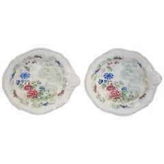 19th Century Pair of Shaped Dishes