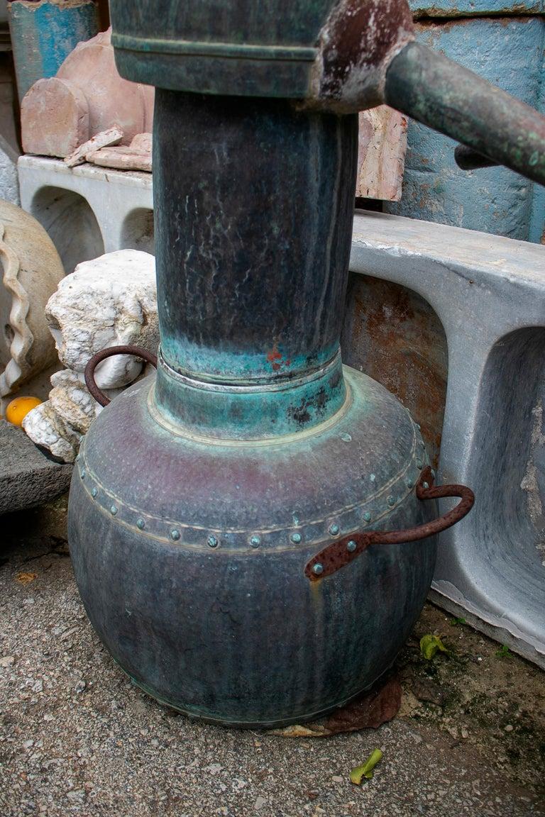 19th Century Pair of Spanish Galician Copper Spirit Stills For Sale 3