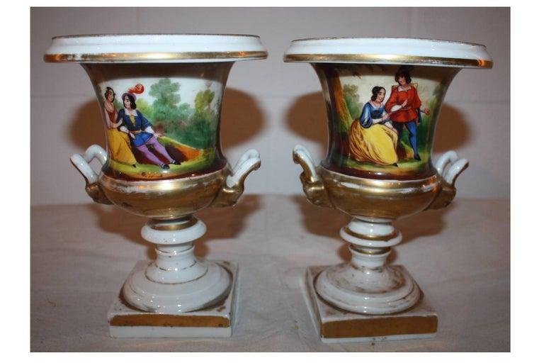 Louis Philippe 19th Century Pair of Vases