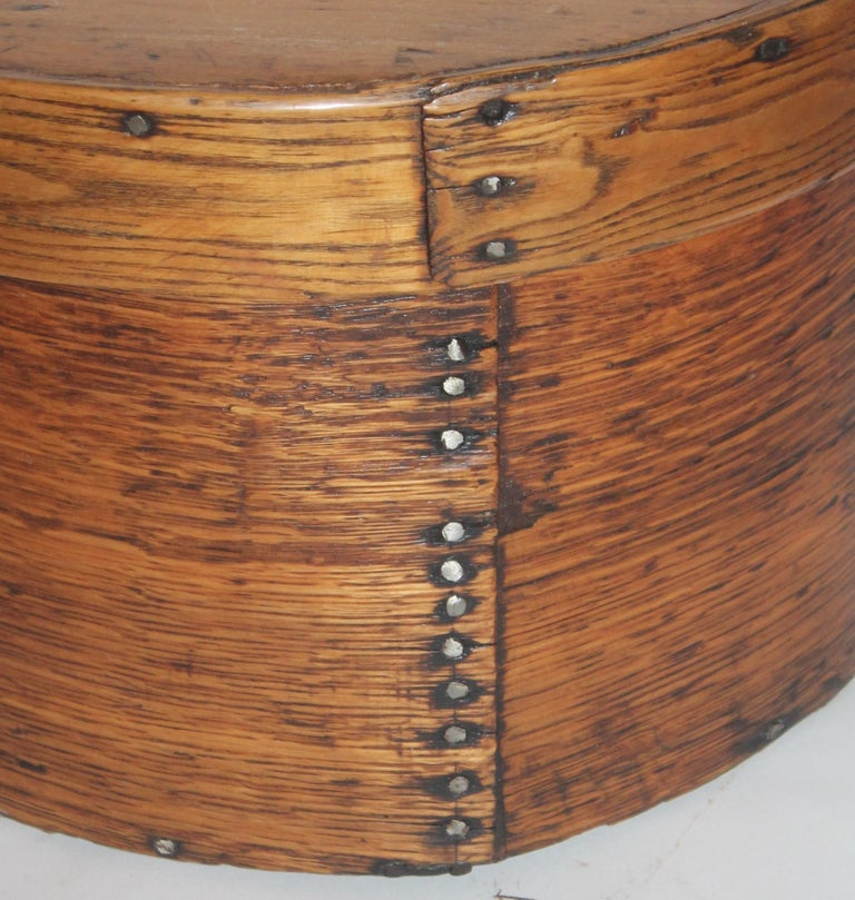 American 19th Century Pantry Box Large Scale from New England For Sale