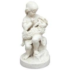 19th Century Parian Figure