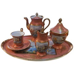 19th Century Paris Porcelain Tea Set