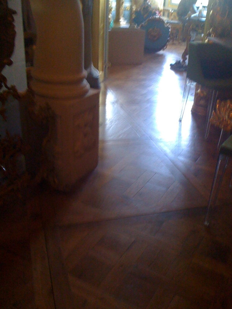 Louis XIV 19th Century Parquet de Versailles , 2 inch thick  For Sale