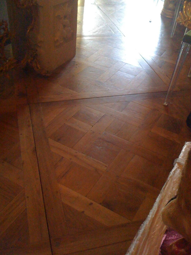 Joinery 19th Century Parquet de Versailles , 2 inch thick  For Sale