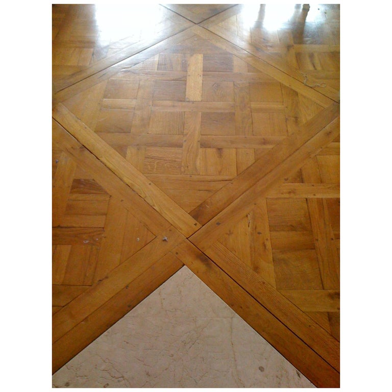19th Century Parquet de Versailles , 2 inch thick  For Sale
