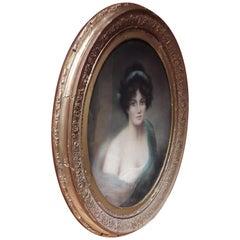 19th Century Pastel