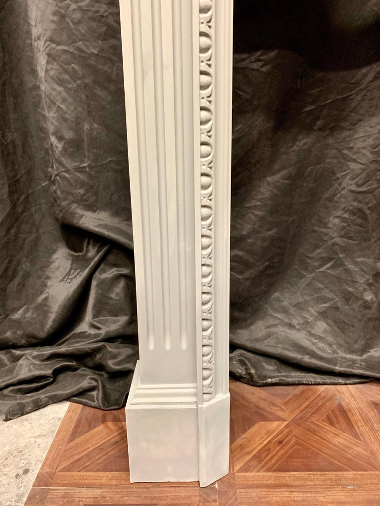 English 19th Century Period Georgian Style Wooden Fireplace Surround For Sale