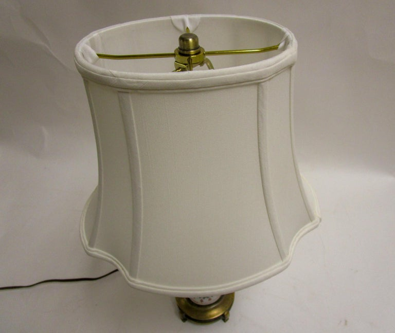 19th Century Petite Chinese Export Table Lamp For Sale 3